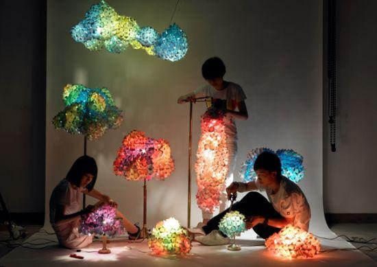 living pixels lightstands1  recycle