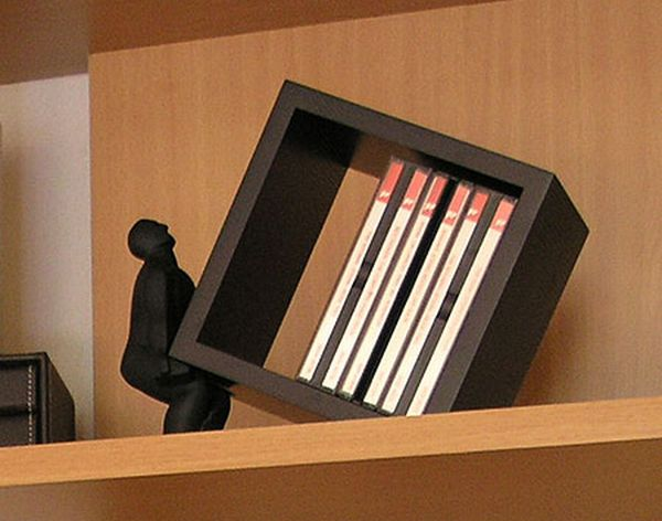 Macho Man CD Holder
