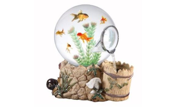 10 artistic fish bowls for a lively home decor hometone for Cool fish bowls