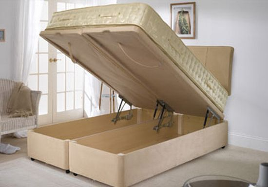 malvern ottoman bed
