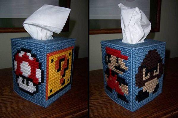 Mario Tissue Box