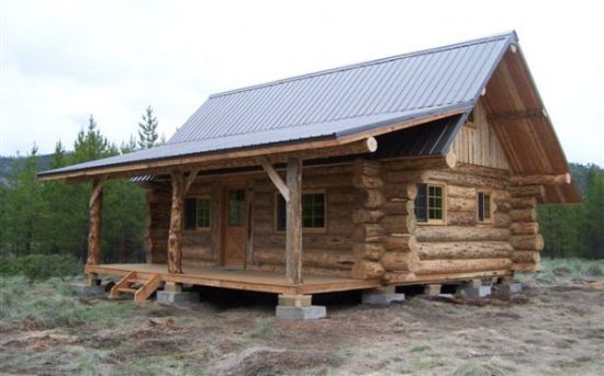 This log cabin looks nice - Hometone