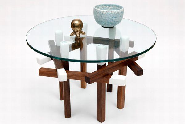 Matchstick Hexagon Table