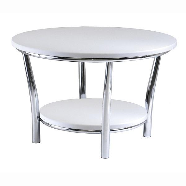 Elegant white coffee tables hometone