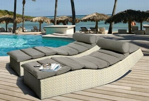 Seven outdoor lounge beds to relax in comfort