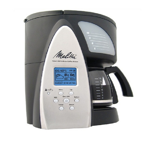 Melitta Smart Mill & Brew 10-Cup Coffeemaker