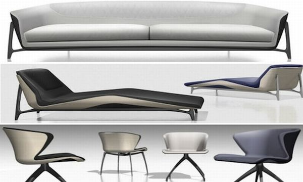 Mercedes-Benz's  new furniture