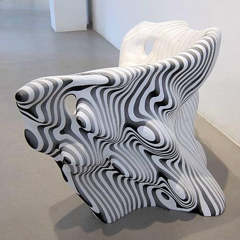 mindcraft paper chair