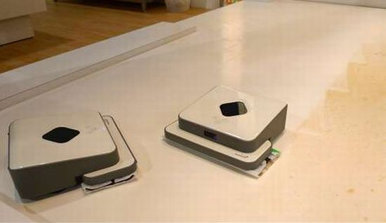 mint the robotic floor cleaner