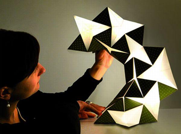 Miyo Lamp By Silke Steinberg An Origami Based Home Light