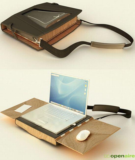 mobile workstation messenger bag