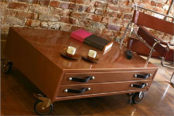 Mobile Storage Coffee table