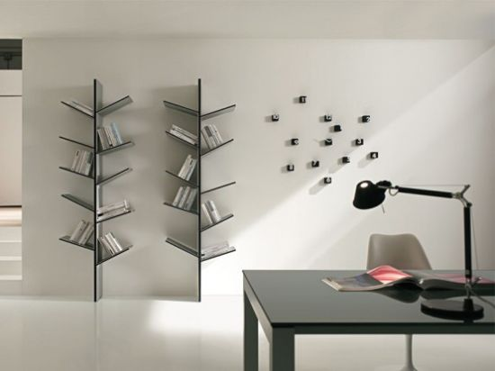 modern bookshelves inspired by the nature fargus b
