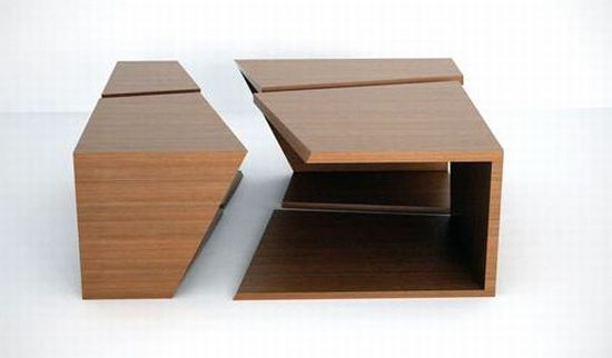 SliceBox modern coffee table by DecodeLondon