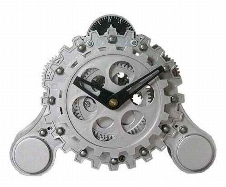 modern gear table clock 1