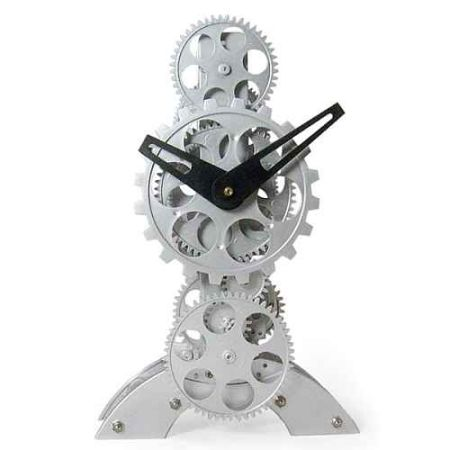 modern gear table clock 2