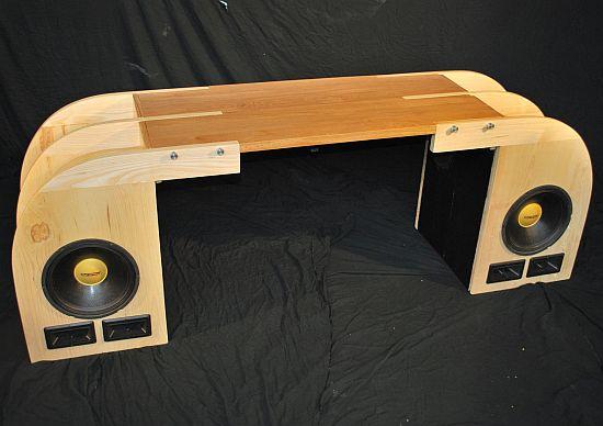 modern sound desk