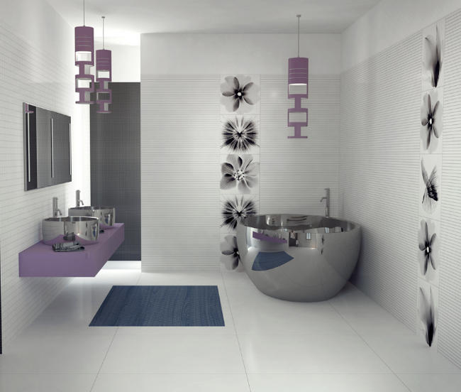Modern bathroom design by Viva Ceramica