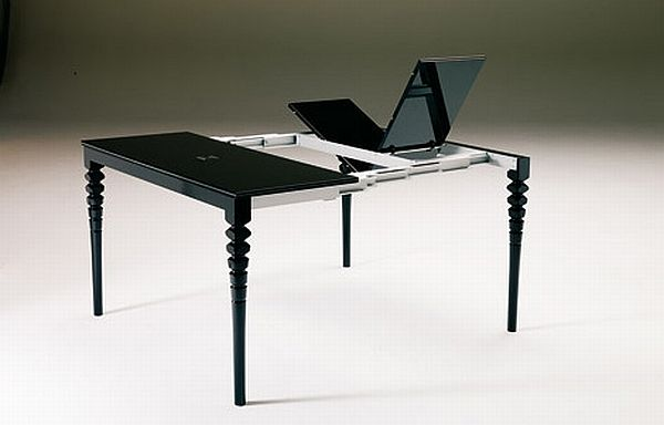 Smart expandable console tables for urban dwellings hometone - Expandable console tables ...