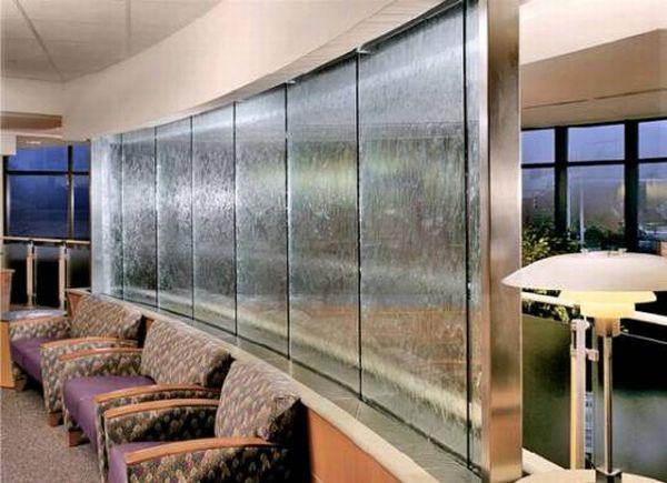 Modern Indoor Waterfall