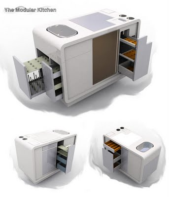 Modular kitchen by Wing Chi Chow