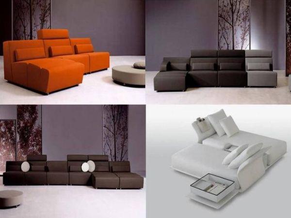 Modular sofa designs