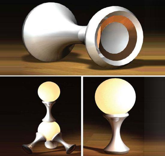 molecule lamp