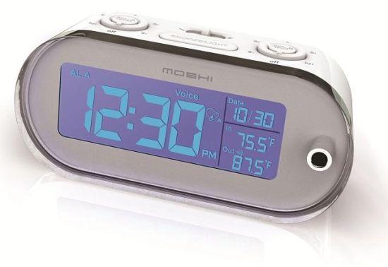 moshi voice control reflection clock