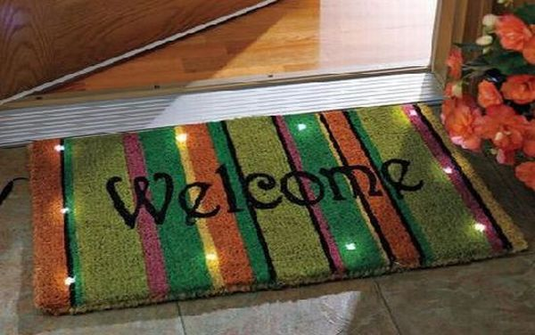 eight unique and creative doormats for dust free home