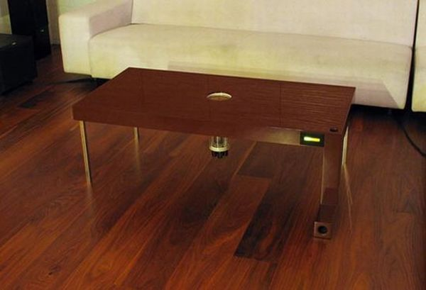 Mouse-trap coffee table