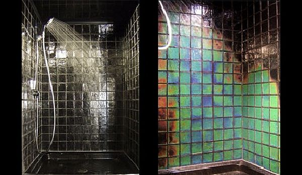 Eight Artistic Glass Tiles Giving A Sense Of Wonder To Modern Decor - Colored-and-clear-glass-tiles-by-vetrocolor