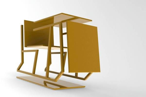 Multifunctional furniture by david mahoney utilizes for Functional furniture