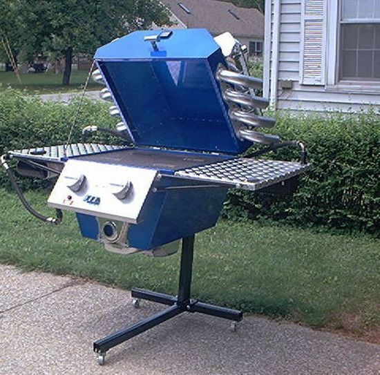 muscle car bbq grill 1