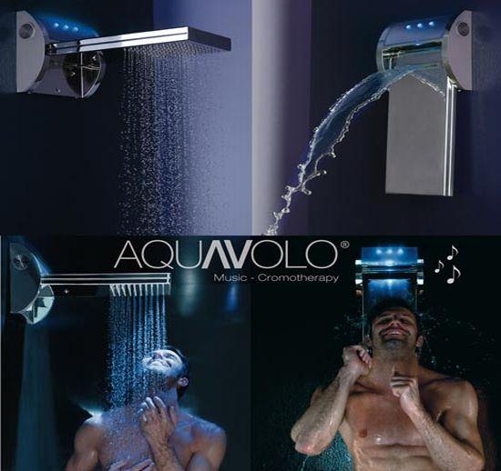 music shower bossini aquavolo 4