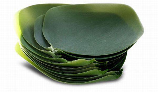 Nature Inspired Dishware