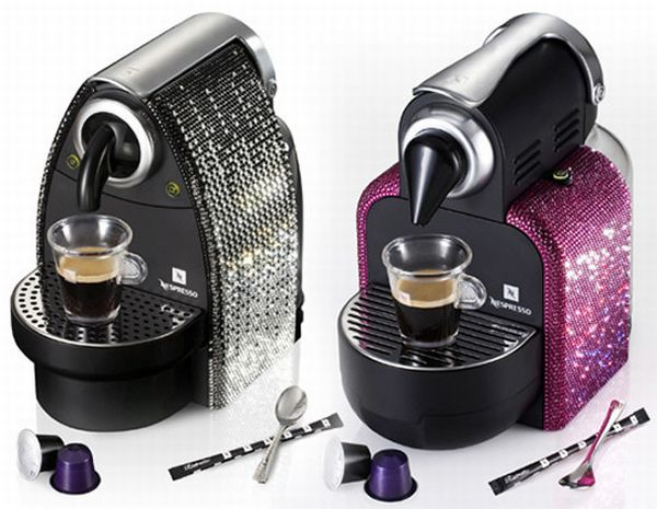 Nespresso Crystal Coffee Machine