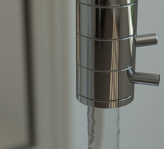 new ceiling mounted faucet bilo by singnorini 2