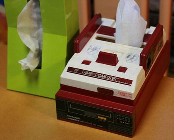 Nintendo Tissue Box