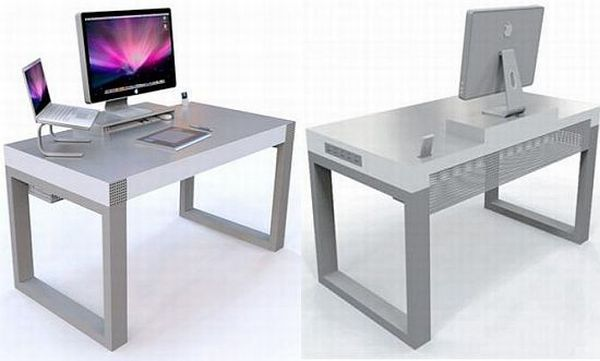 cool and creative home office desks hometone