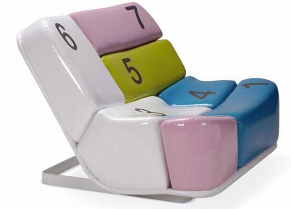 Numeric Keypad Chair