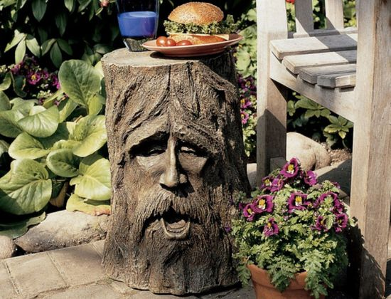 odin tree stump sculptural table 1