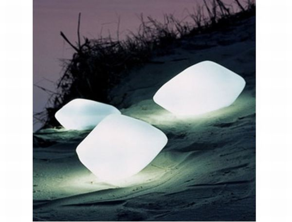 Oluce Stone Outdoor Lamp