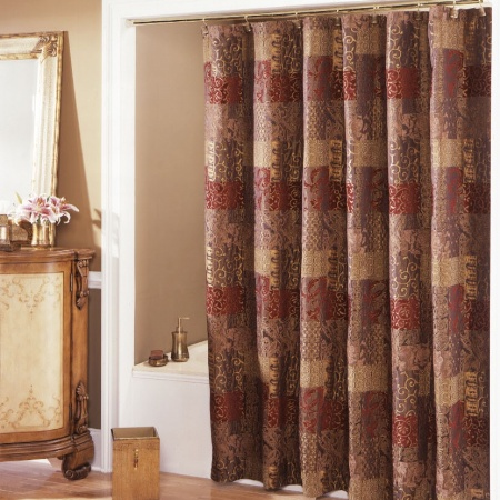 Bunk Bed Tents And Curtains Croscill Red Shower Curtain