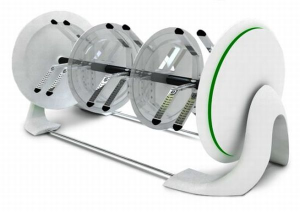 Orbicle footwear dryer