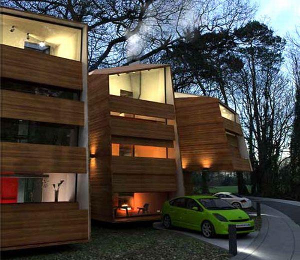 Organic prefab house