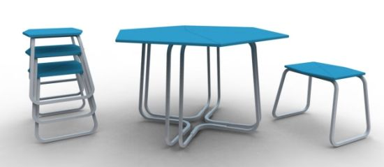 otto table and stools1