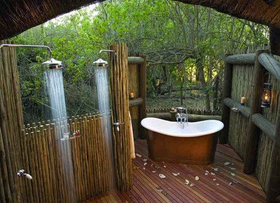 Inspiration bathe under the open sky hometone home for Home automation shower