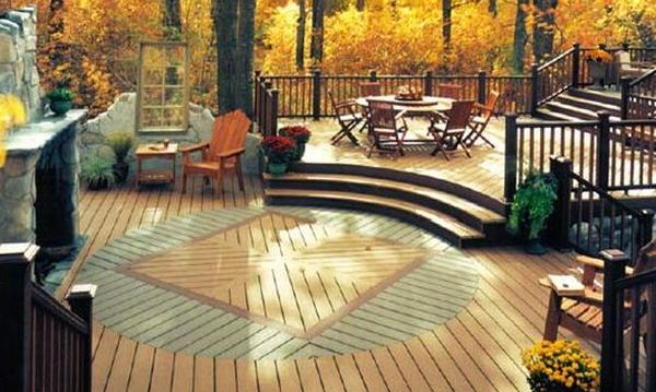Great Backyard Decks : Great Outdoors Redefine your landscape with aesthetic outdoor decks
