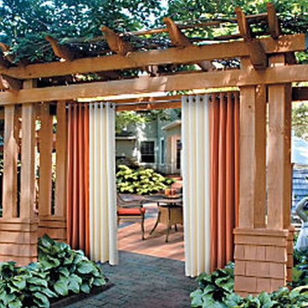 Outdoor Curtains 10 Most Stylish Hometone Home