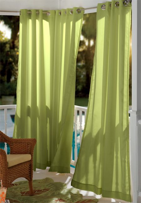 Outdoor Curtains: 10 Most Stylish - Hometone